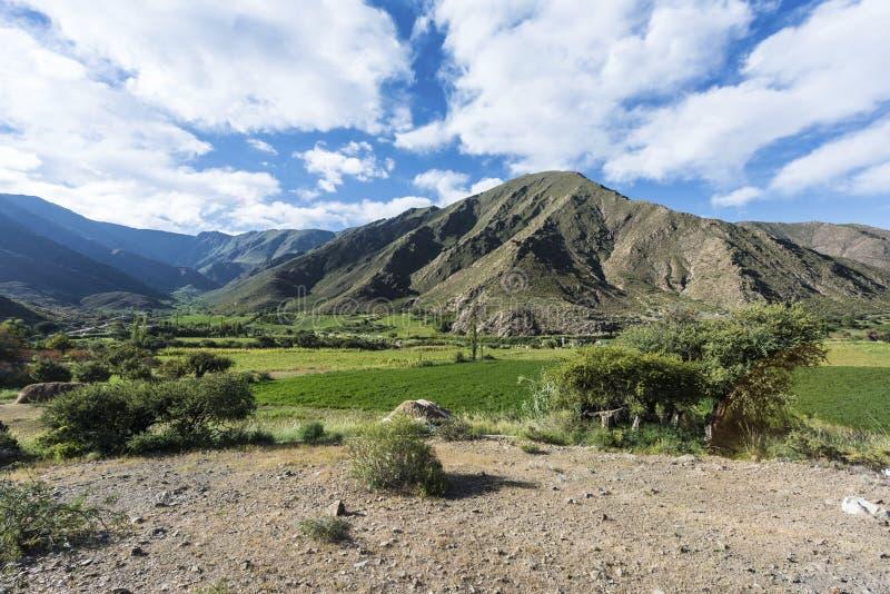 Cachi Adentro i Salta, nordliga Argentina royaltyfria bilder