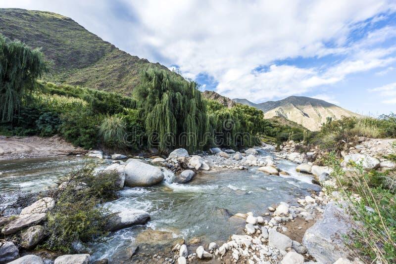 Cachi Adentro i Salta, nordliga Argentina fotografering för bildbyråer