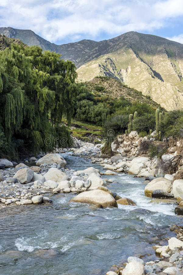 Cachi Adentro in Salta, northern Argentina. Cachi Adentro Region within Calchaqui Valleys in Salta Province, northern Argentina royalty free stock photos