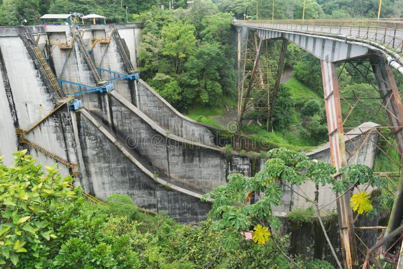 Cachi Costa Rica van damrepresa stock afbeelding