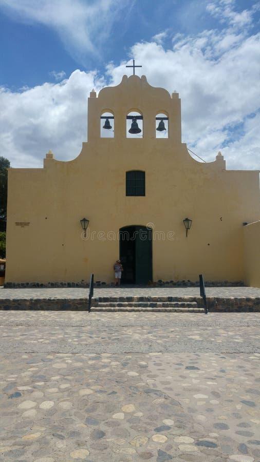 Cachi Salta Argentina kaktuscardon arkivbild