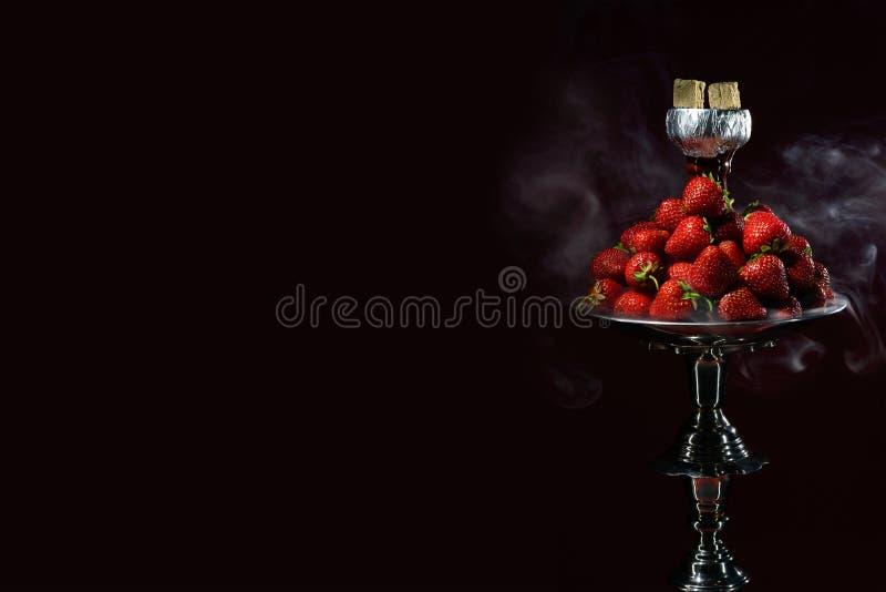 Cachimba del aroma de la fresa foto de archivo