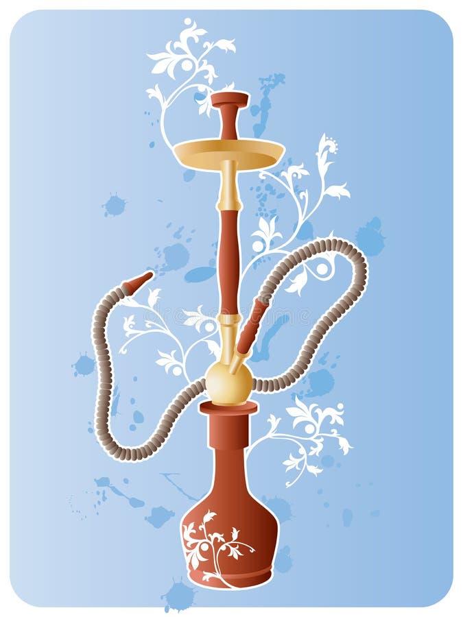 Cachimbo de água ilustração do vetor