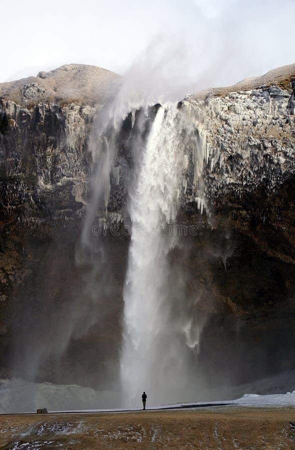 Cachoeira foto de stock