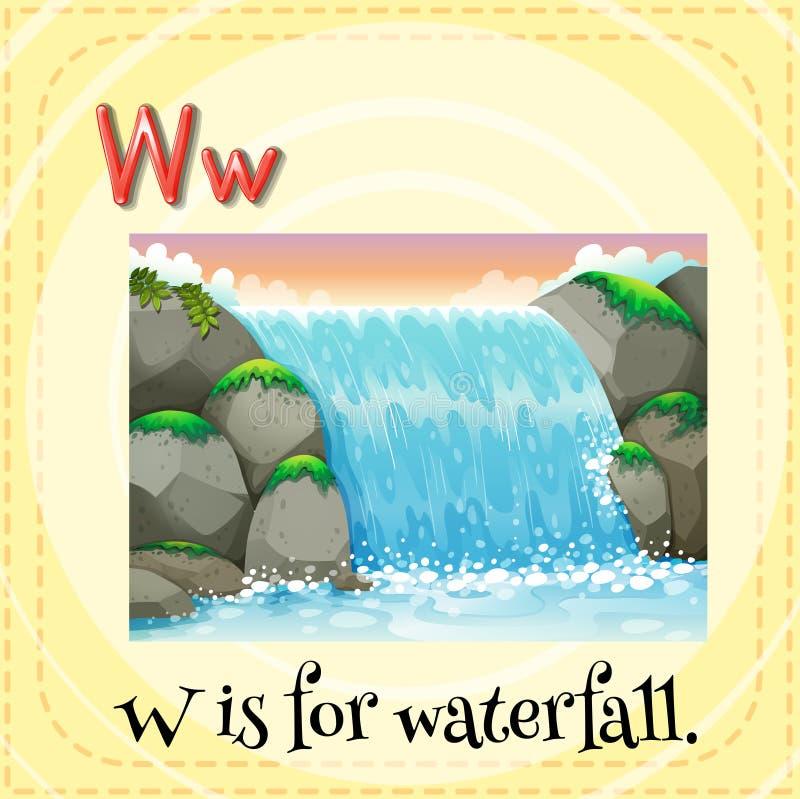 Cachoeira ilustração royalty free