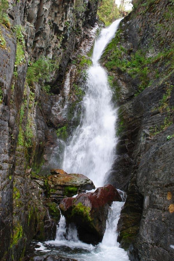Cachoeira alta fotos de stock