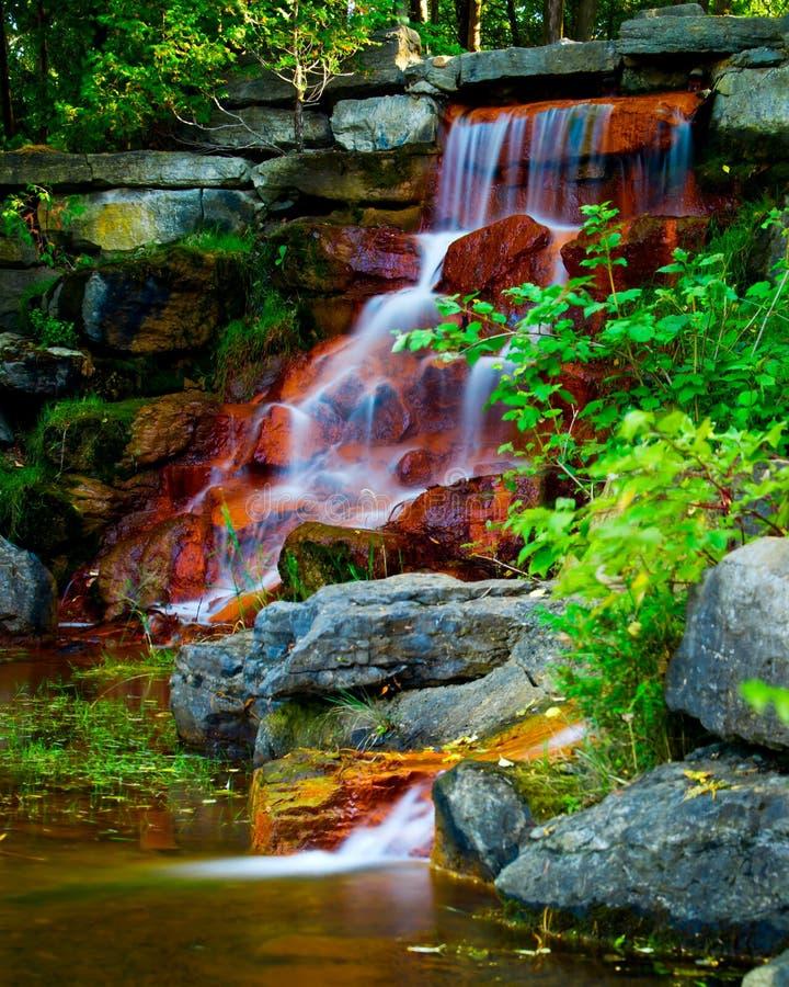 Cachoeira bonita no parque de Andrew Haydon foto de stock