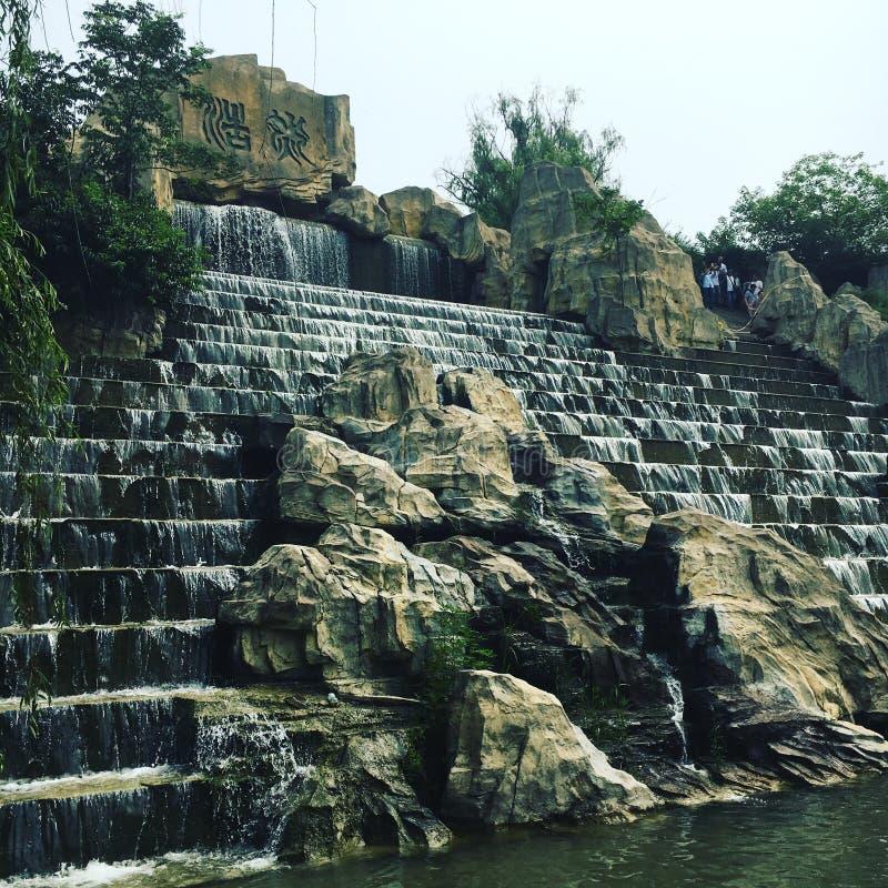 Cachoeira chinesa imagens de stock