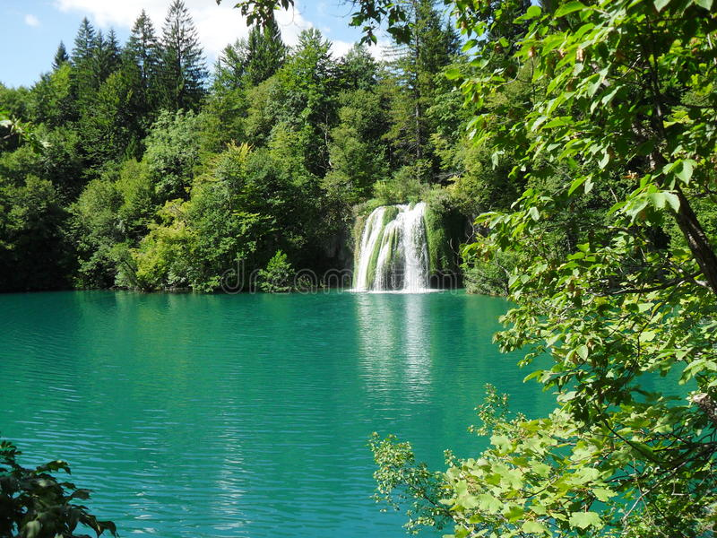 Cachoeira croatia imagens de stock royalty free