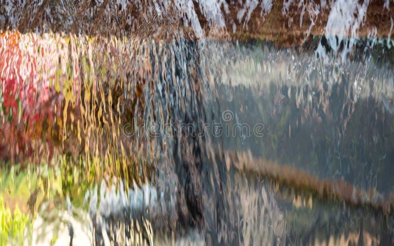 Cachoeira da cortina de água foto de stock royalty free