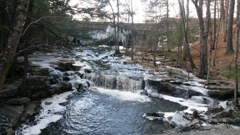 Cachoeira da primavera imagens de stock royalty free