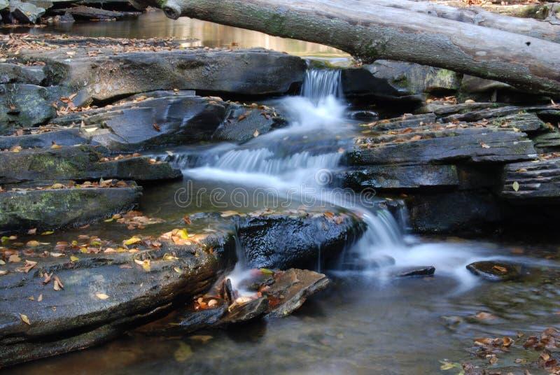 Cachoeira da rocha fotos de stock