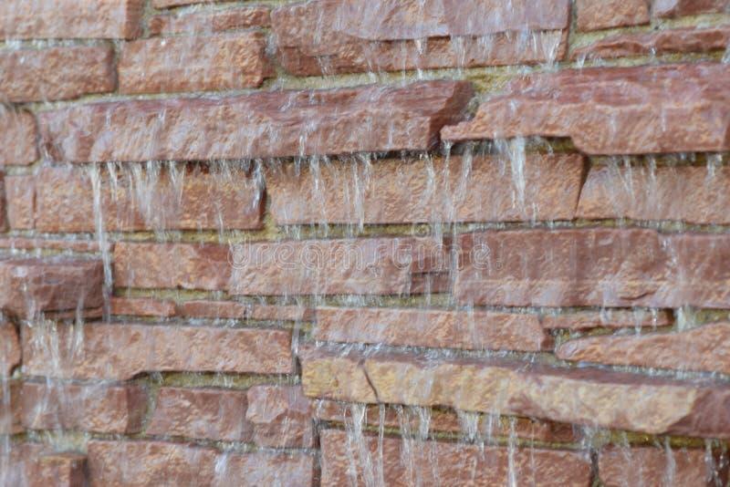 Cachoeira da rocha imagem de stock