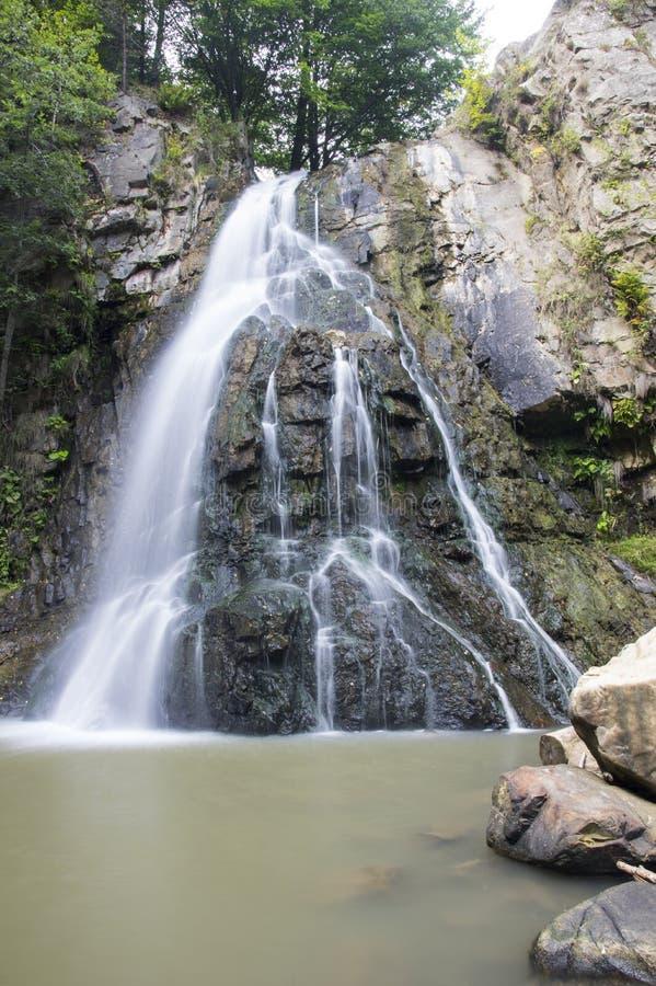 Cachoeira da rocha fotografia de stock