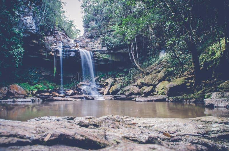 Cachoeira 1 de Bajo Cantarana imagens de stock royalty free