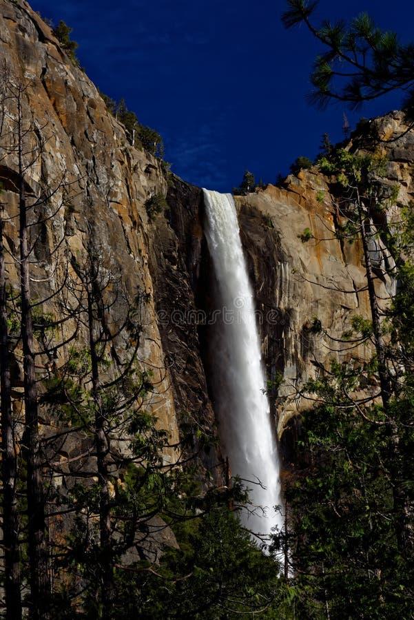 Cachoeira de Bridalveil no parque nacional de Yosemite imagem de stock royalty free