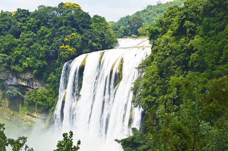 Cachoeira de China Guizhou Anshun Huangguoshu fotografia de stock royalty free