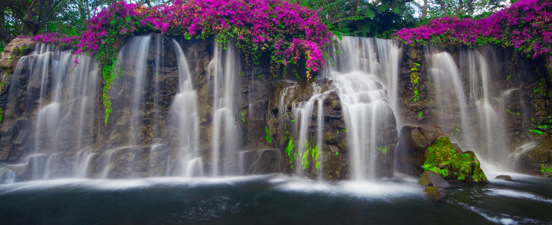 Cachoeira de conexão em cascata foto de stock royalty free