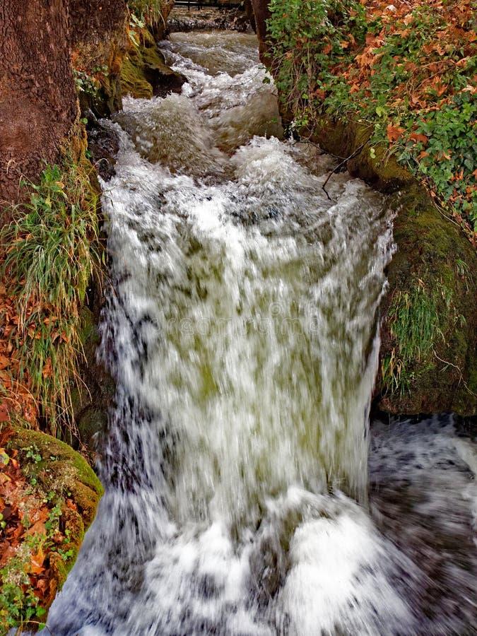 Cachoeira de Edessa, Macedônia, Grécia imagens de stock