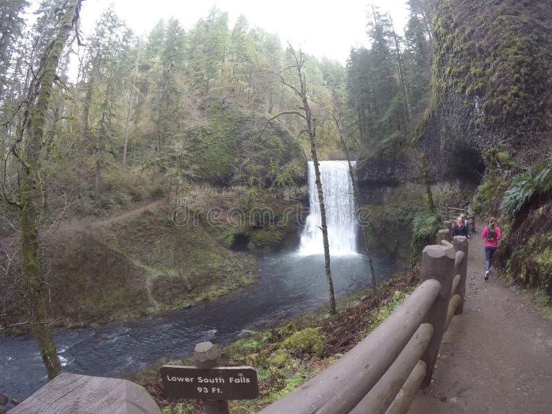 cachoeira de 10 fugas foto de stock royalty free