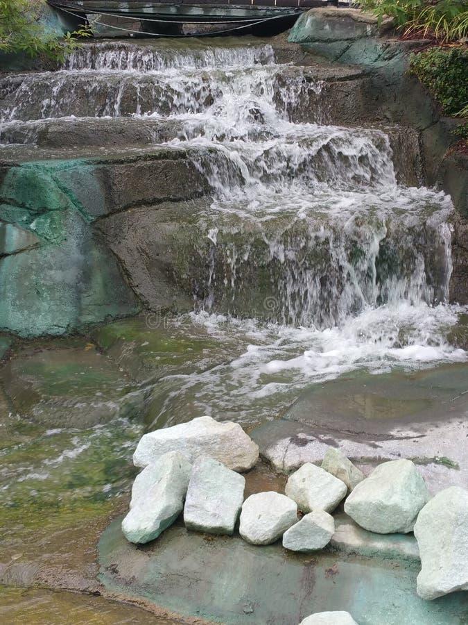 Cachoeira de Gatlinburg imagem de stock