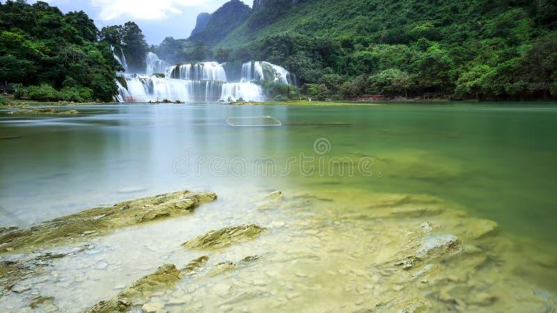 Cachoeira de Gioc da proibição foto de stock royalty free