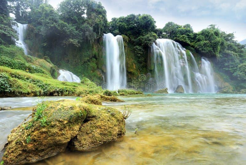 Cachoeira de Gioc da proibição imagem de stock