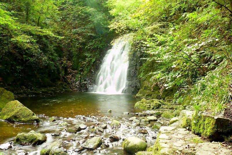 Cachoeira de Glenoe imagem de stock royalty free