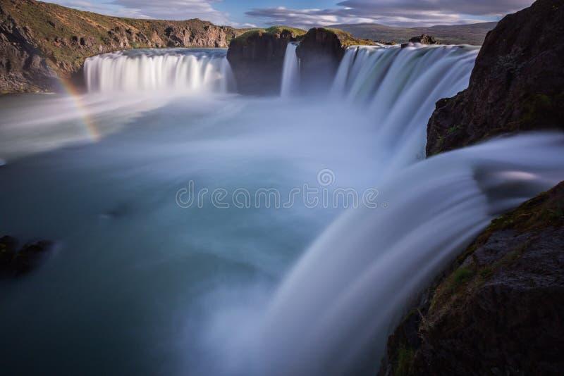 Cachoeira de Godfoss imagem de stock royalty free