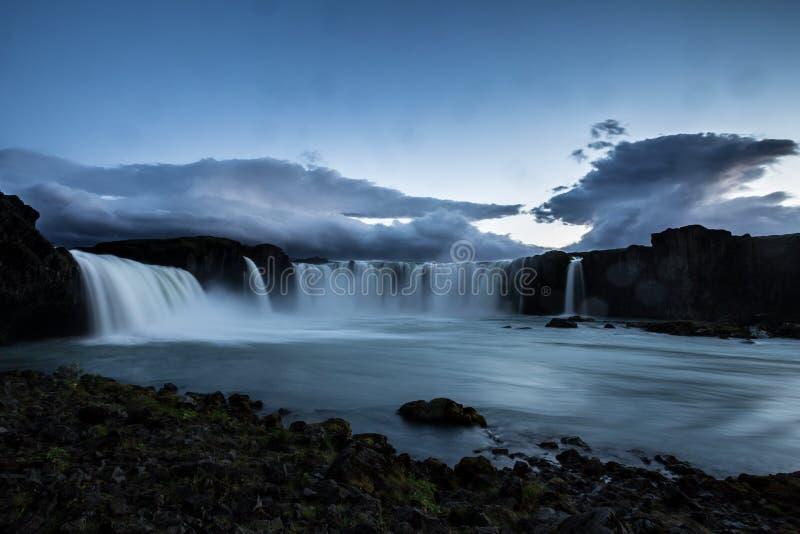 Cachoeira de Godfoss foto de stock royalty free