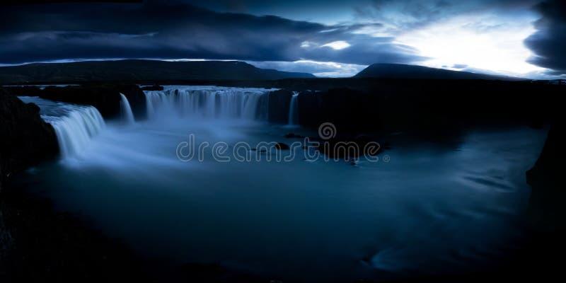 Cachoeira de Godfoss foto de stock