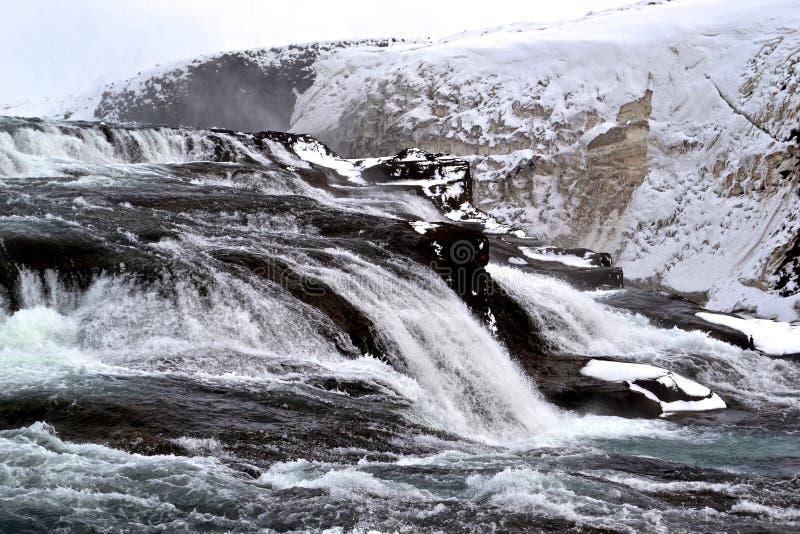 Cachoeira de Gullfoss fotos de stock royalty free