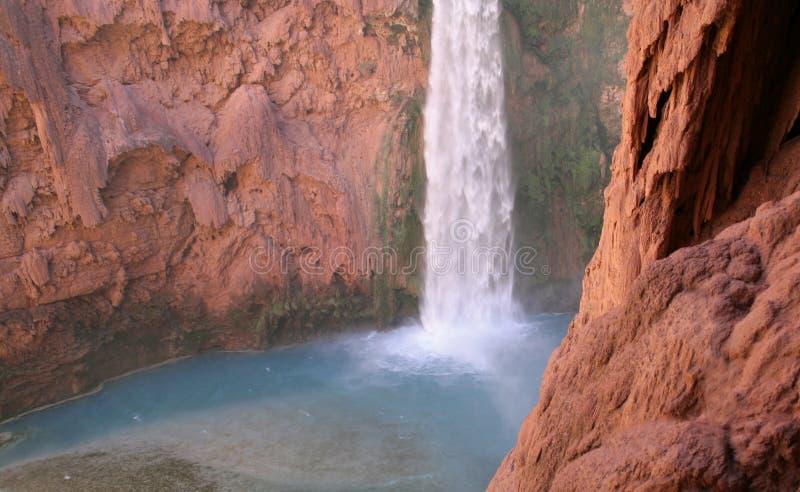 Cachoeira de Havasupai imagens de stock royalty free
