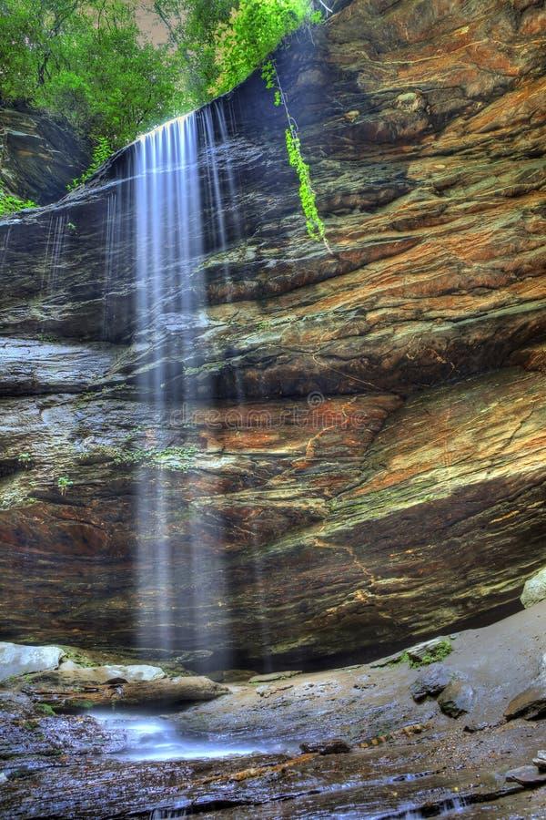 Cachoeira de Hdr fotos de stock