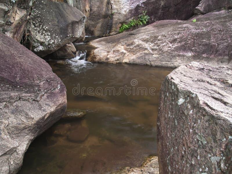 Cachoeira de Huai Yang fotografia de stock