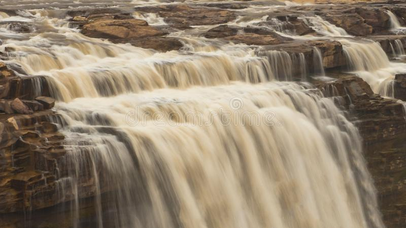 Cachoeira de Hukou imagem de stock