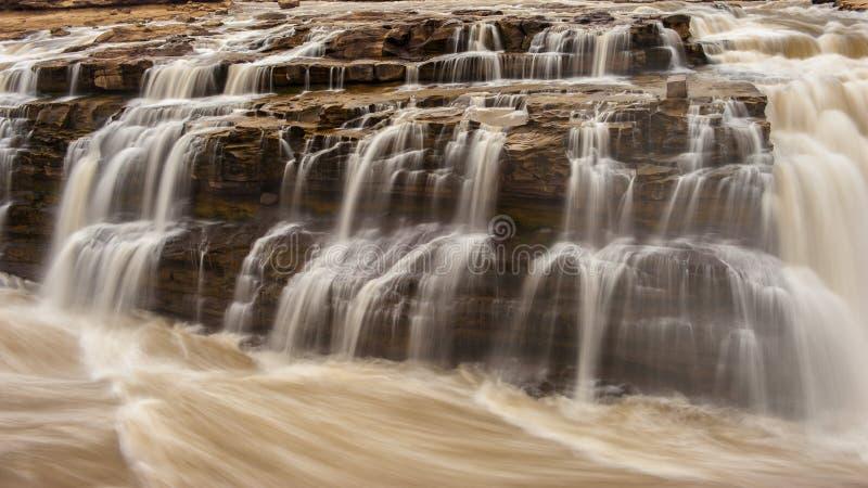 Cachoeira de Hukou fotografia de stock