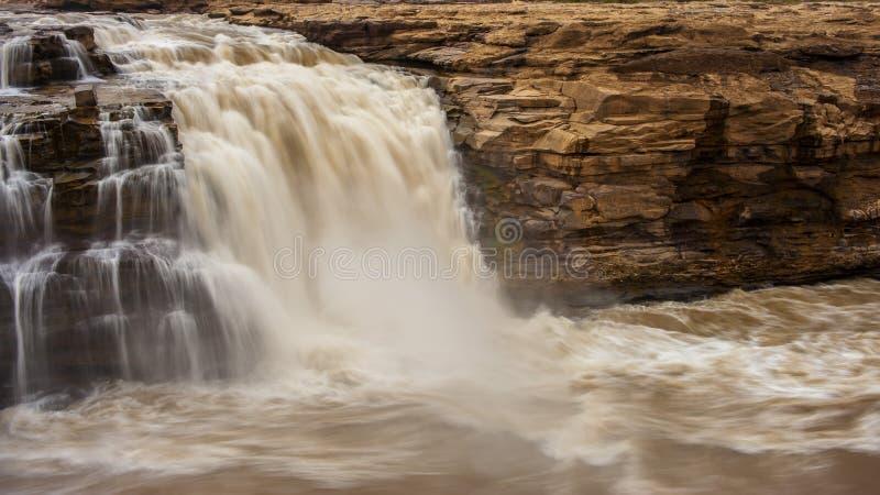 Cachoeira de Hukou imagens de stock royalty free