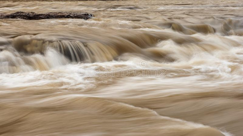 Cachoeira de Hukou fotos de stock royalty free