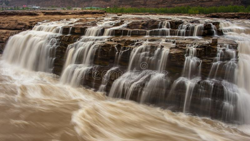 Cachoeira de Hukou foto de stock royalty free