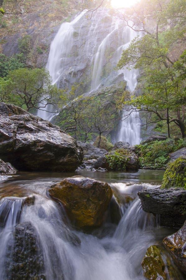 Cachoeira de Klonglan fotos de stock