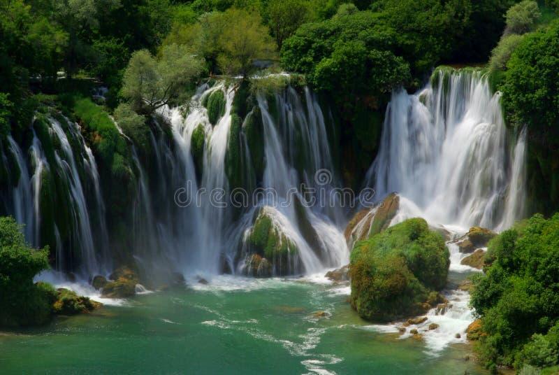 Cachoeira de Kravica imagem de stock royalty free