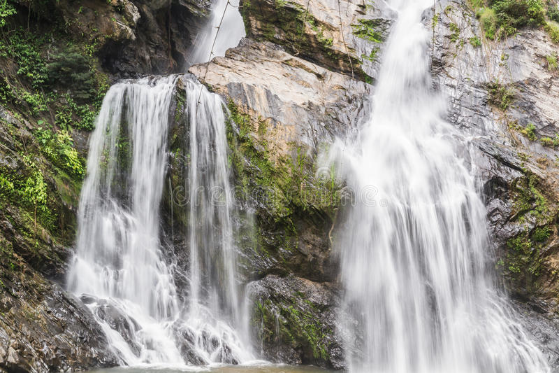 Cachoeira de Krungshing fotos de stock royalty free