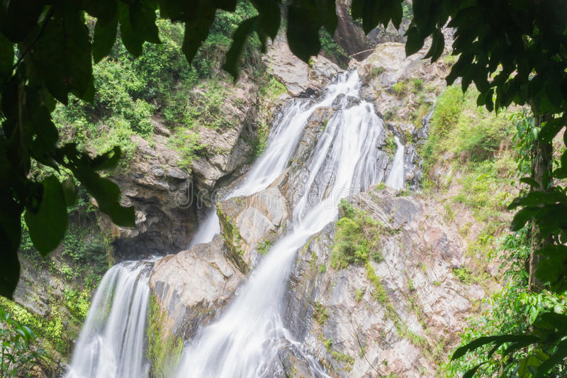 Cachoeira de Krungshing fotografia de stock royalty free