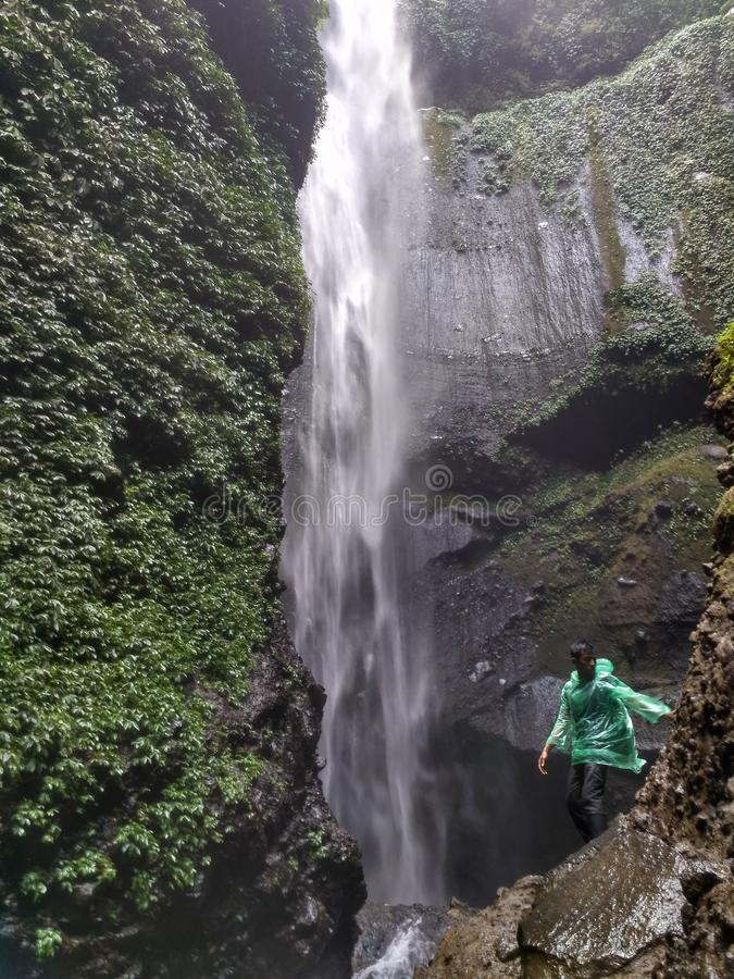 Cachoeira de Madakaripura foto de stock royalty free