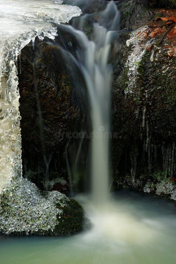 Cachoeira de madeira imagem de stock royalty free