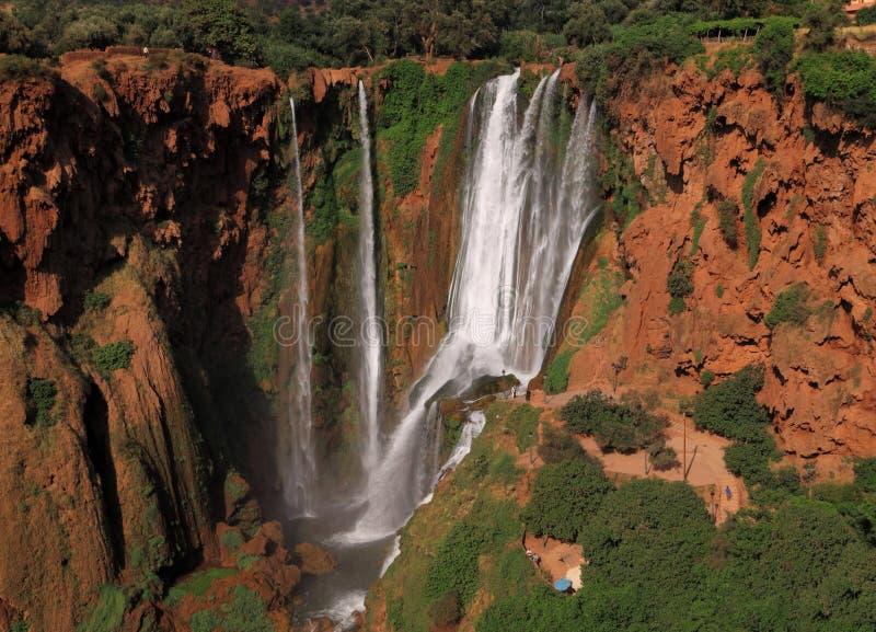Cachoeira de Marrocos Ouzoud fotografia de stock royalty free