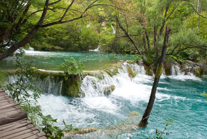 Cachoeira de Milka Trnina foto de stock