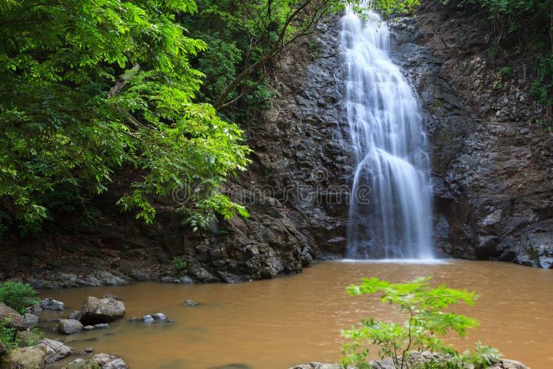 Cachoeira de Montezuma em Costa Rica fotos de stock