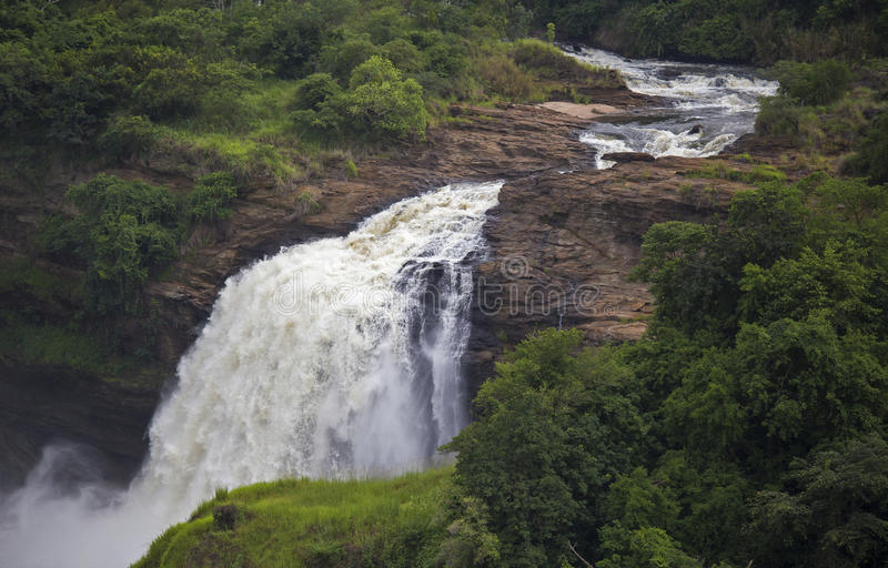 Cachoeira de Murchison Falls fotografia de stock